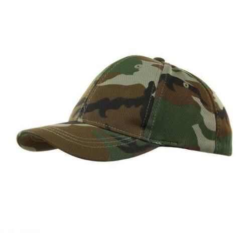KINDER baseball cap pet leger camouflage