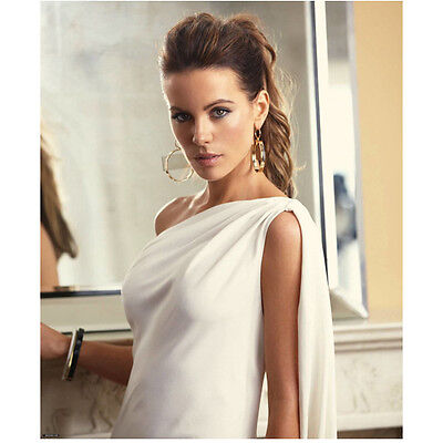 Kate Beckinsale in Satin White Toga Style Dress 8 x 10 inch photo](White Toga Style Dress)