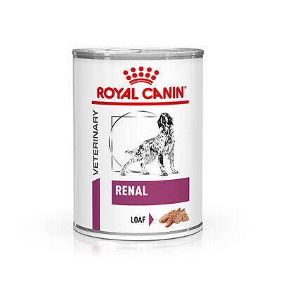 Royal Canin Renal Veterinary Health Nutrition Dog Food Wet 12 x 410g Cans