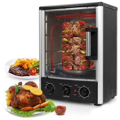 Nutri Chef Pkrt97 Multi Function Vertical Oven With Bake  Rotisserie   Roast
