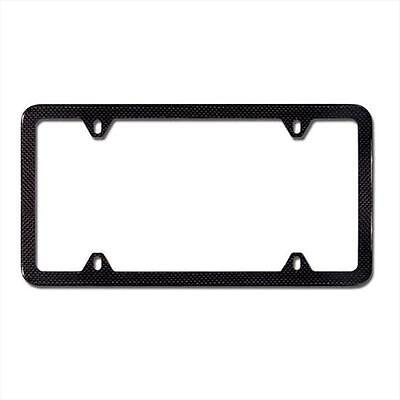 BMW OEM Carbon Fiber Slim Line License Plate Frame for All Vehicles 82112210415