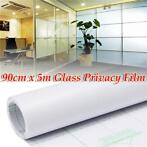 90cm 5M Frosted Window Tint Glass Privacy PVC Film For DI...