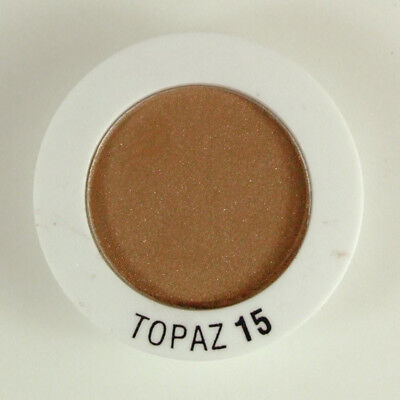 Elizabeth Arden Eye Shadow Duo Topaz 15 Tester .05  oz Refill Clay Earth Brown (15 Eye Shadow Refill)
