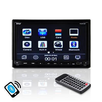 "Car Video 7"" 2-DIN Motorized DVD CD MP3 Bluetooth AM/FM USB Stereo Receiver"