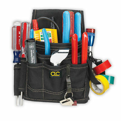 Clc Custom Leathercraft 1503   9 Pocket Professional Electrician Tool Belt Pouch