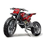 Decool Technic City Moto Cross Bike Met Doos Bouwstenen T...