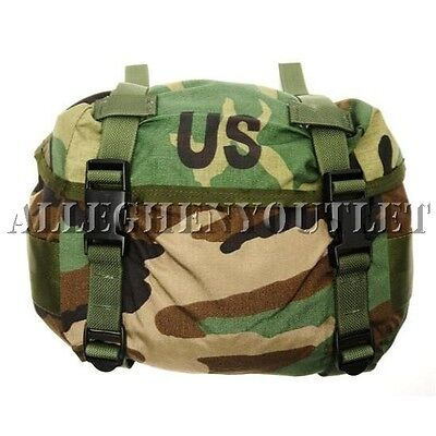 US Military Army FIELD TRAINING BUTT PACK Waist Bag Field Pack Woodland Camo NEW