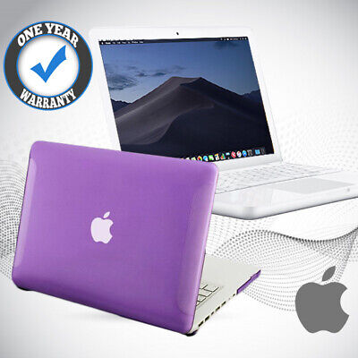 Refurbished Macbook Apple Powerful 250GB HDD 4GB A1342 Mac Laptop Mojave Purple