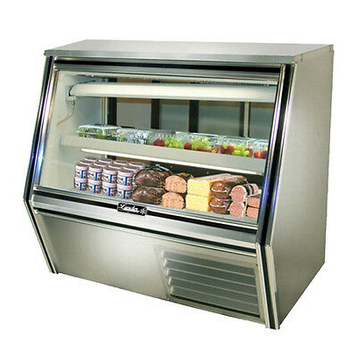 Leader Cdl48 48x34x45-inch Refrigerated Deli Case Gravity Coil Self-contained