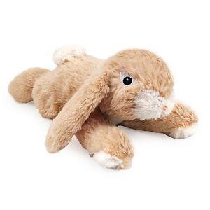 Ancol Small Bite Plush Rabbit Dog Toy - Puppy Comforter 23cm Approx