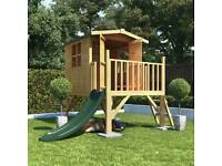 Garden Max Tower Playhouse with slide