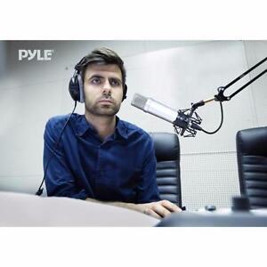 Pyle (PMKSH01) Suspension Boom Scissor Microphone Stand Studio Radio Shock Mount Holder