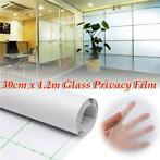 30cm 1.2M Frosted Window Tint Glass Privacy PVC Film For ...