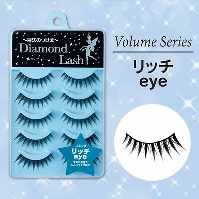 "Diamond Lash☆Japan-FALSE EYELASH Volume Series 5 Pairs ""Rich eye"" ,JAIP."