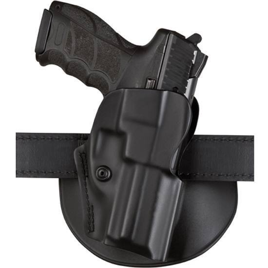 "Safariland 5198-490-411 5198 CZ75 Sp-01 4.72"" Belt Paddle Holster RH Plain Blk"