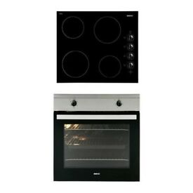Beko OSF21121X Integrated Single Oven & Hob Package in Stainless Steel & Black EX DISPLAY /1