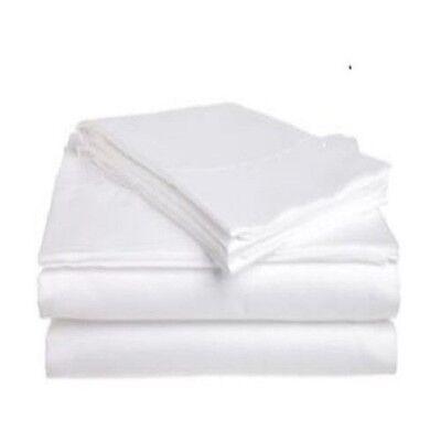6 new white muslin t130 54x80 draw sheets massage table flat sheets