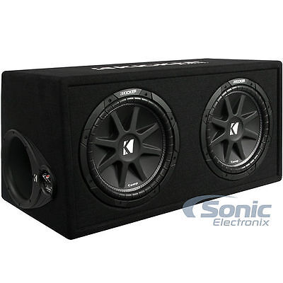 KICKER 43DC122 Comp Audio Dual 2 أوم 12