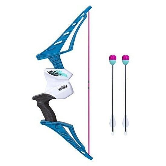 Nerf Bow And Arrow Set Foam Dart Blaster Toy Gun For Kid Boy