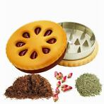 Cookie Biscuit stijl tabak Grinder kruid Spice Crusher