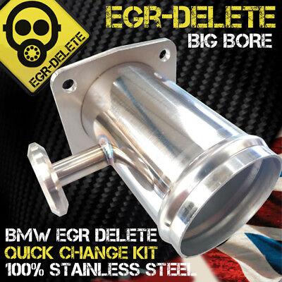 Fits BMW E46 318d 320d 330d 330xd 320cd EGR DELETE REMOVAL KIT BLANKING BYPASS