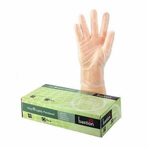 Vinyl Gloves - 1 Carton (100 Gloves) CLEARANCE! Rathmines Lake Macquarie Area Preview