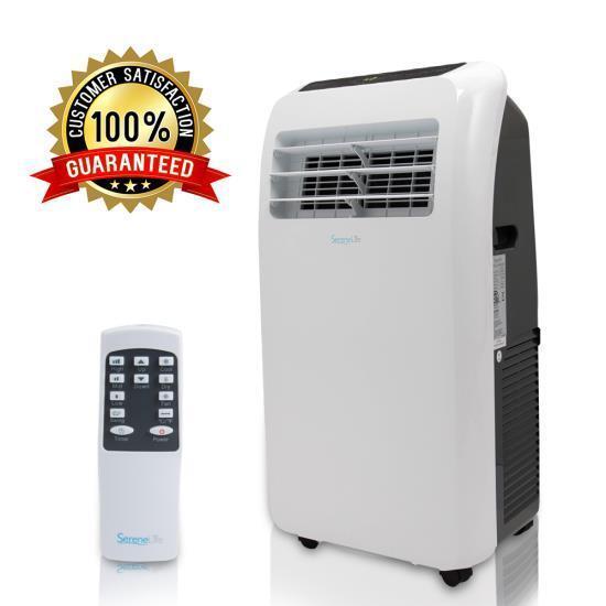 SERENE-LIFE 10,000 BTU Portable Air Conditioner Dehumidifier
