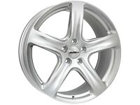 """18"""" Calibre Tourer Alloy Wheels and Tyres. Ford Transit (5x160) Silver"""
