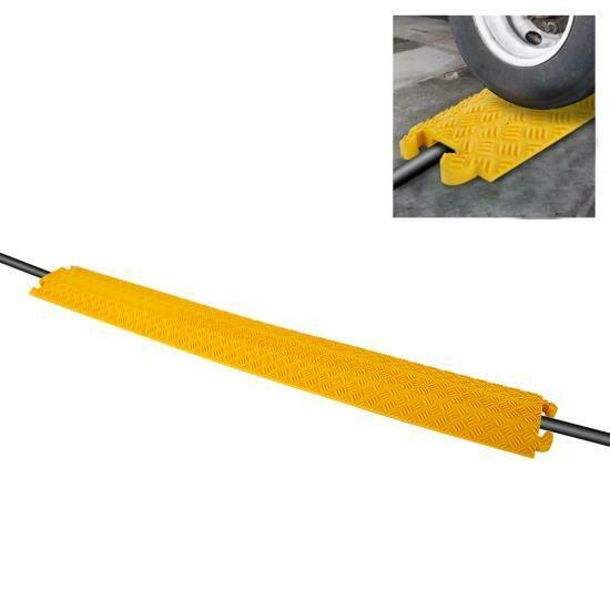 Durable Cable Protective Ramp Cover - Supports 11000lbs Sing