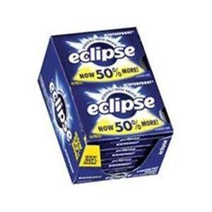 Eclipse Sugar Free Gum Winterfrost 8 packs (18 ct per pack)
