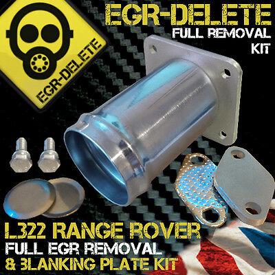 RANGE ROVER L322 3.0 TD6 EGR REMOVAL KIT DELETE BLANKING BYPASS BHP PERFORMANCE