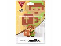SWAP 8 bit Link Amiibo Nintendo Zelda
