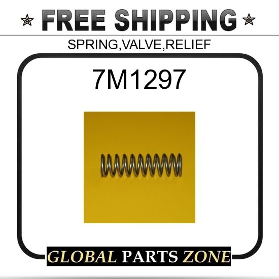 7M1297 - SPRING,VALVE,RELIEF  for Caterpillar (CAT)