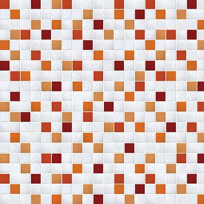 (Tile Effect Wallpaper Pattern Vinyl Wall Covering Home Depot Pell Stick Rolls)