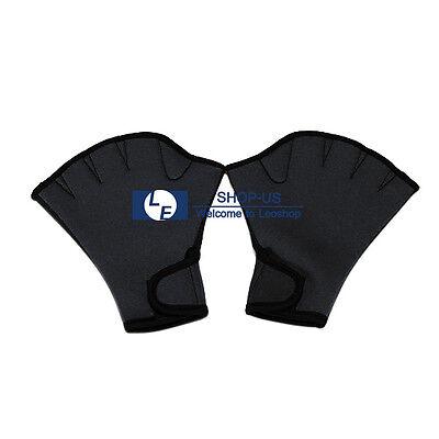 New Swimming Surfing Swim Fingerless Frog Webbed Glove Exercise Swim Gloves
