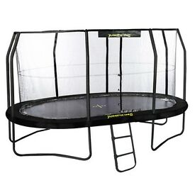 Professional JumpKing 10ft x 15ft Oval JumpPod Trampoline
