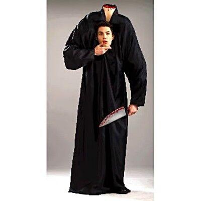 Herren Erwachsene Unheimlich Headless Horse Man Kostüm Outfit