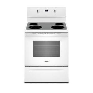 Whirlpool YWFE520S0FW 5.3 cu. ft. guided Electric Rear Control Range on sale (BD-2169)