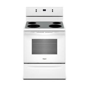Whirlpool 5.3 cu. ft. Electric Rear Control Range YWFE520S0FW (BD-2169)