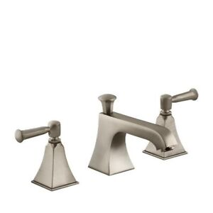 Kohler 454-4S-BV Memoirs Widespread Lavatory Faucet With Stately