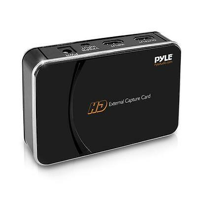 HD External Capture Card Recording System, for Video Game Consoles & Computers