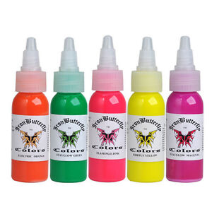 SET-OF-5-UV-TATTOO-INK-Ultra-Violet-Iron-Butterfly-1-OZ