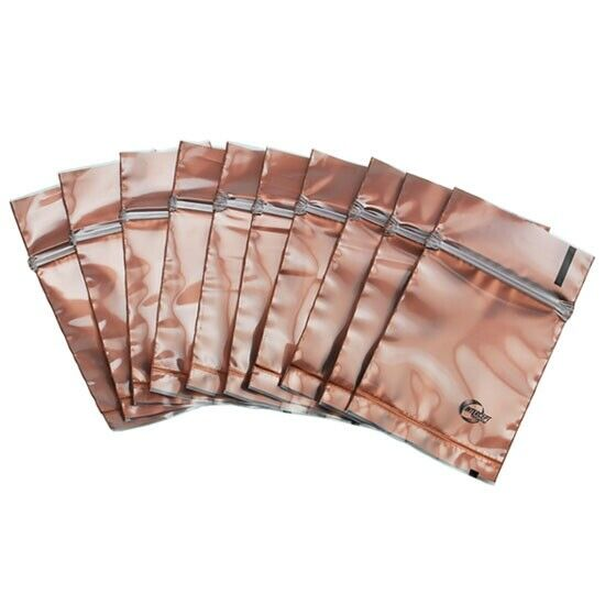 "Anti Tarnish TRANSLUCENT Corrosion 2"" x 2"" Anti-Tarnish Zip-Lock Bags (10 Pack)"