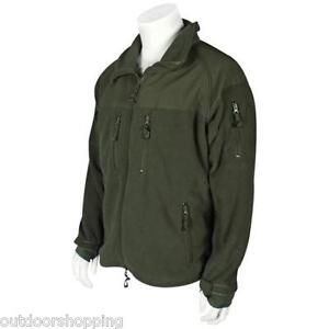 Olive-Drab-Green-ENHANCED-ECWCS-FLEECE-JACKET-LINER-Warm-Winter-Cold-Weather