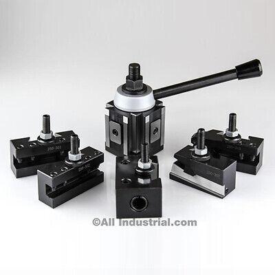 Bxa Piston Tool Post Set Cnc High Precision Quick Change Lathe Holder 200 Series
