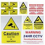 CCTV Camera Beveiliging Camera Waarschuwing Sticker Sign ...