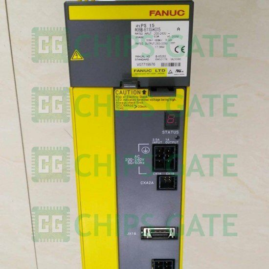 1pcs Used Fanuc Servo Amplifier A06b-6110-h015 A06b6110h015