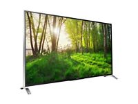 As New Amazing 3D Sony 65 inch Smart TV, Absolutely Perfect Condition, Smart Remote, Aluminium