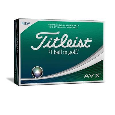 Titleist AVX Golf Balls Brand New $46 - 1 doz, $84 - 2 doz