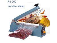 Impulse Sealer FS-200 for sale - Bags sealer.